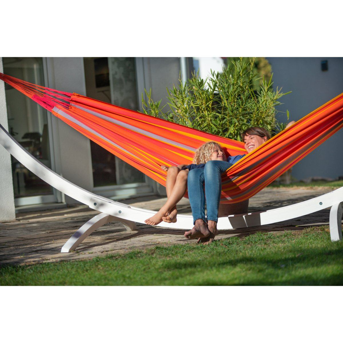 Hammock and Stand Set Up