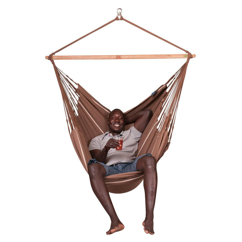 Organic cotton chair lounger