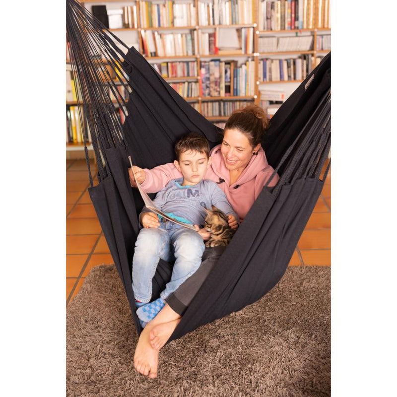 Kingsize Chair Hammock - Black