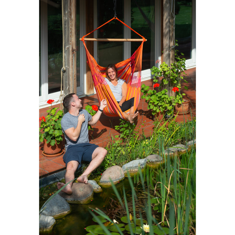 Hammock chair for outdoors of indoors