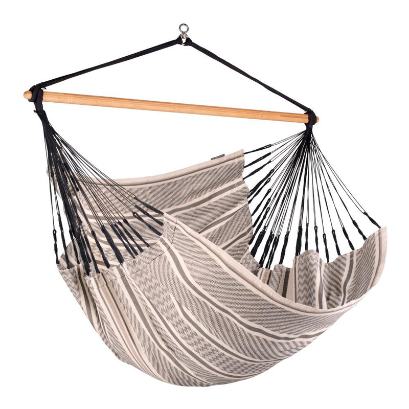 Black and White King-size Hammock Chair