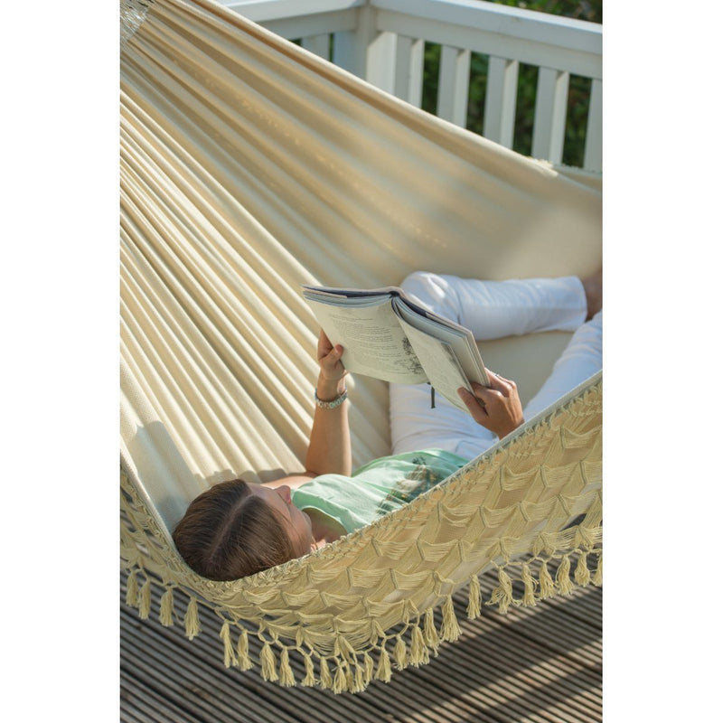 Off white cotton hammock