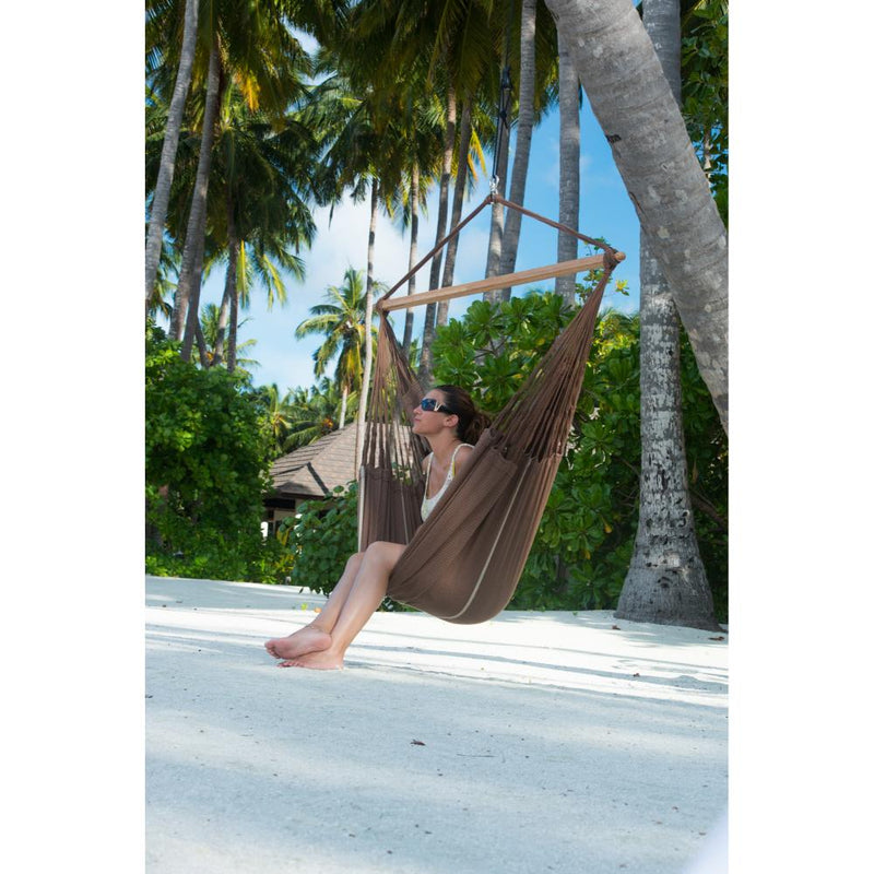 Outdoor cotton hammock swing