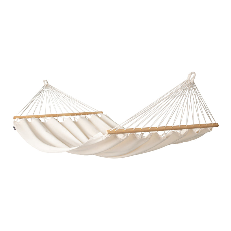 Latte - off-white organic cotton bar hammock