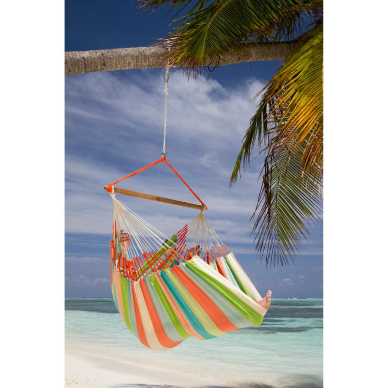 Tropical beach hammock chair