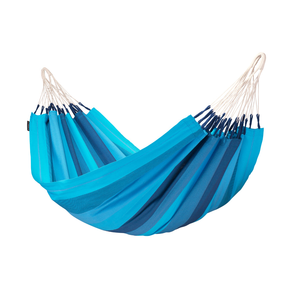 Single Size Blue Cotton Hammock