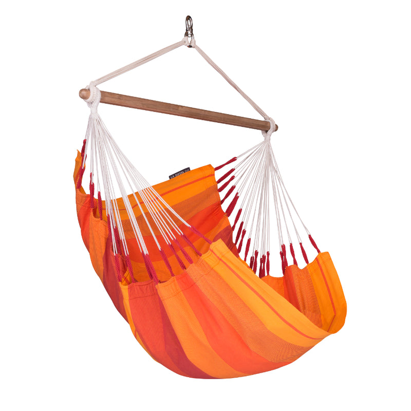 Orange Chair Hammock - Single Size