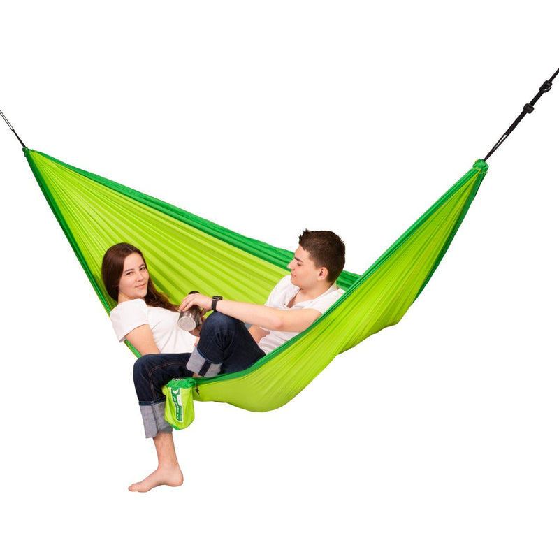 Two person nylon hammock