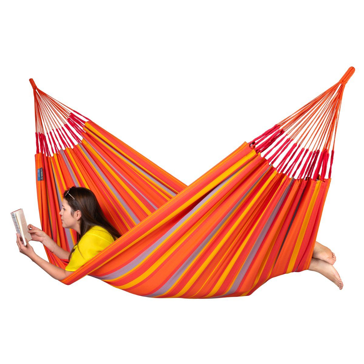 Bright Coloured South American Hammock