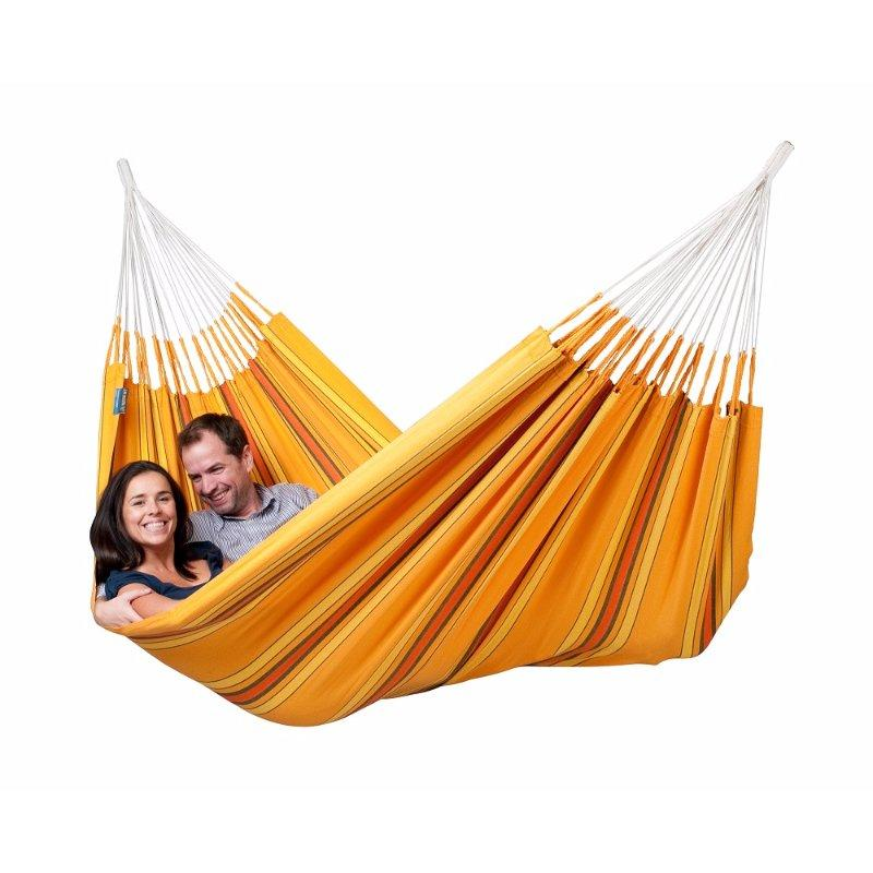 Yellow and Orange Cotton Hammock