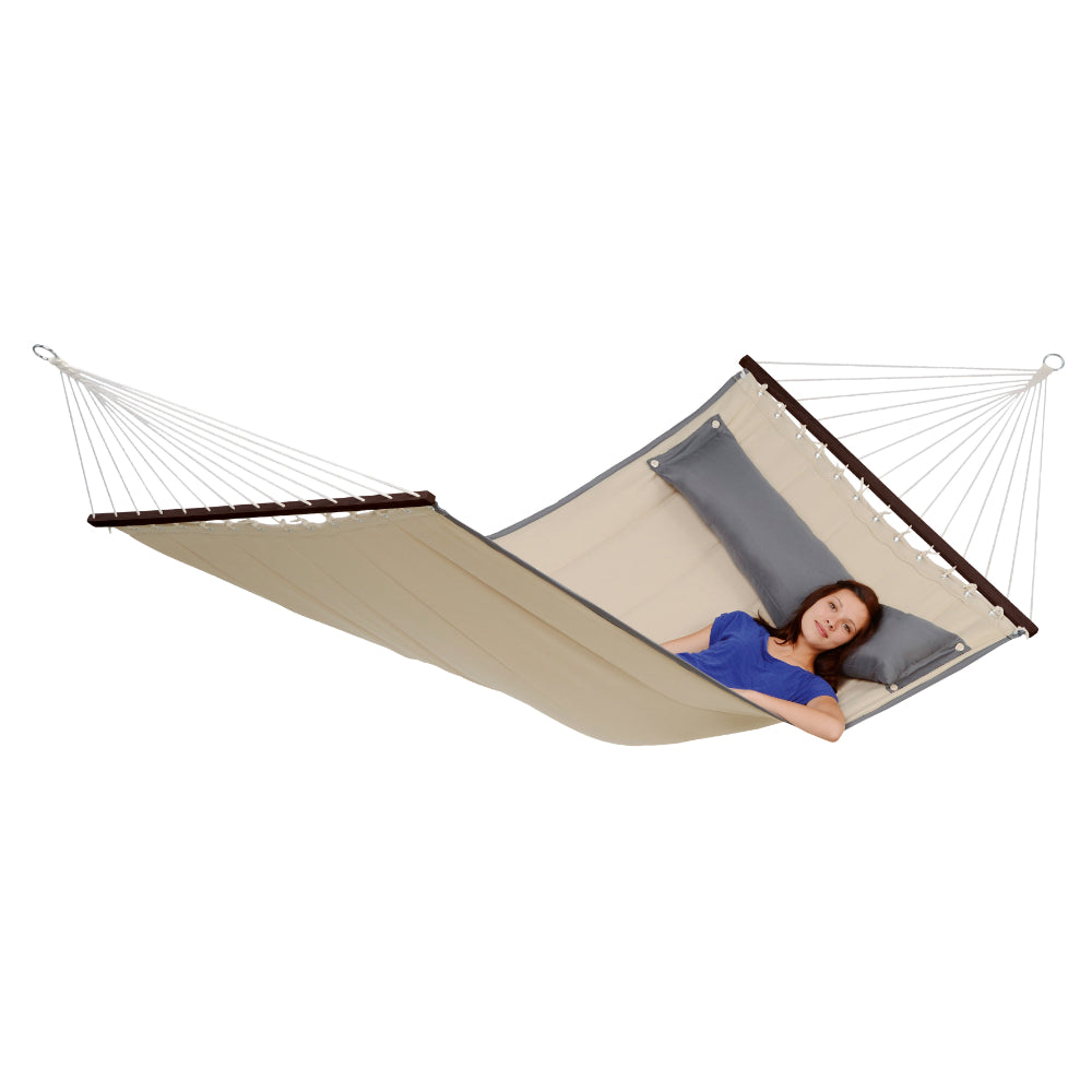 Spreader Bar Hammock - Double Size - Sand