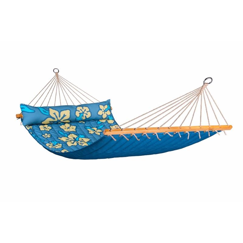 Double Blue Spreader Bar Hammock