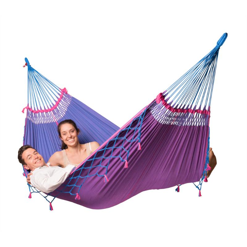 Two person Brazilian organic cotton hammock