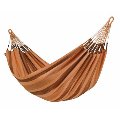 Double brown and gold hammock