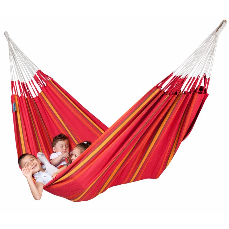 Cotton Double Hammock - Cherry