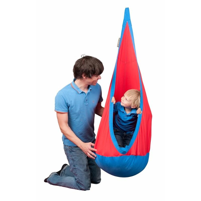 Therapy hanging nest for children