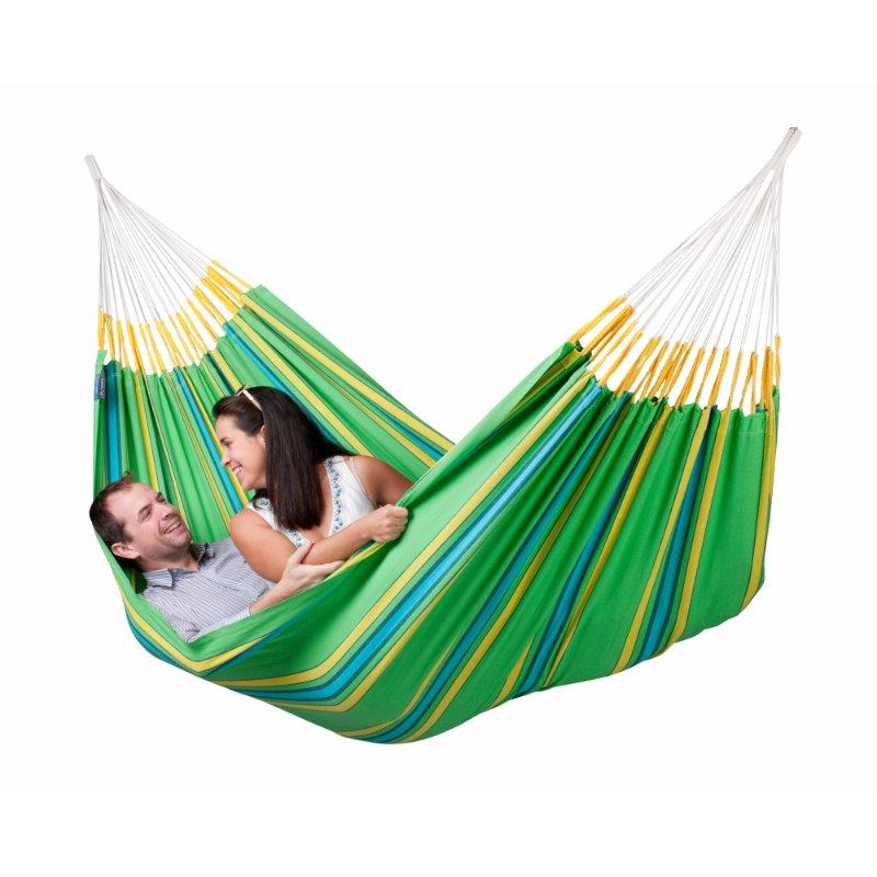 Double Green Cotton Hammock