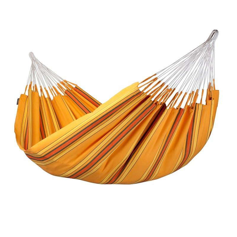Apricot Coloured Cotton Double Hammock