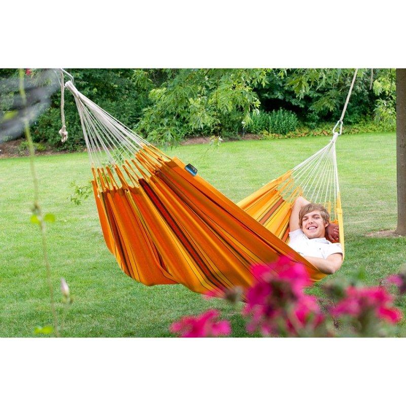 Cotton garden hammock
