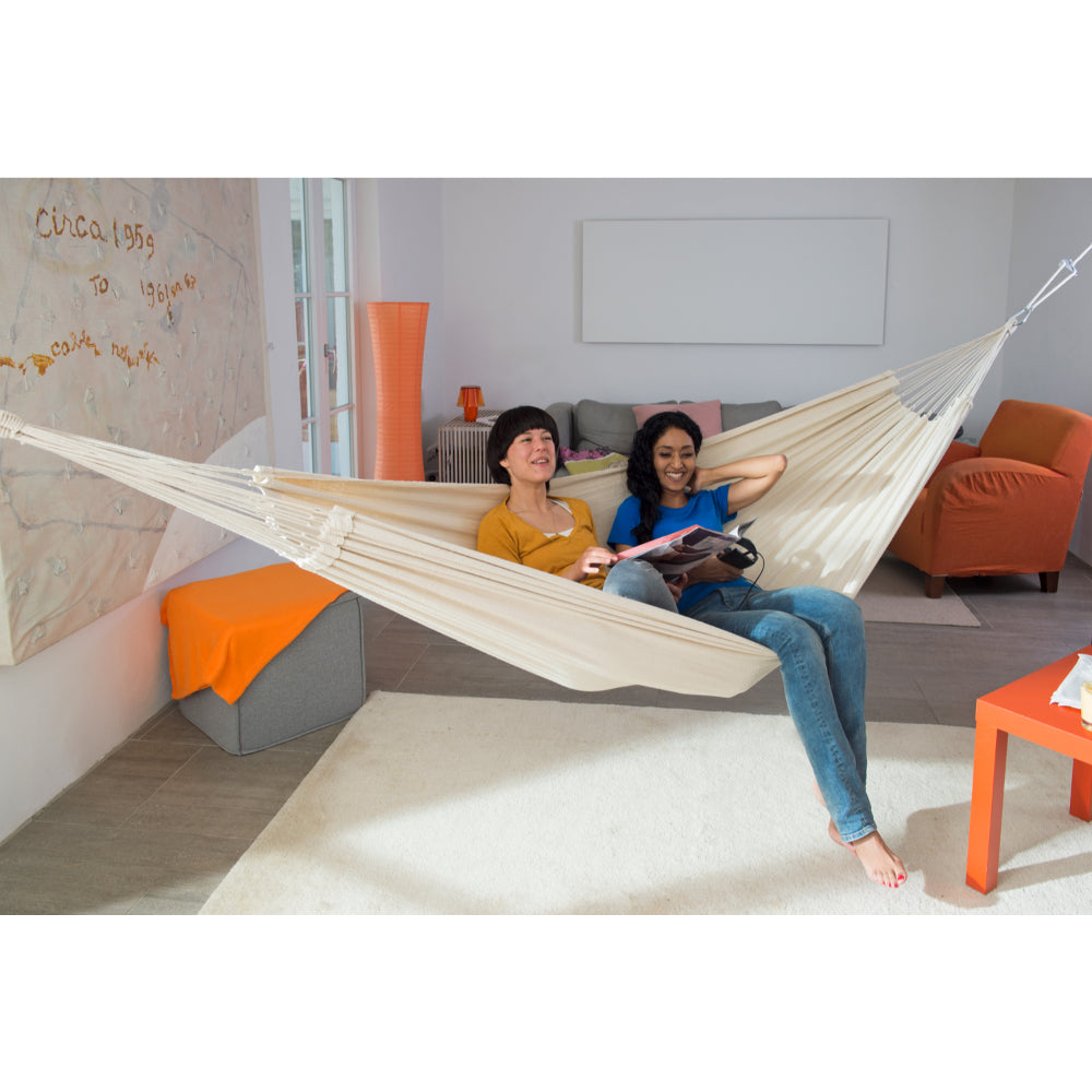 Brazilian Cotton Double Hammock - Natura