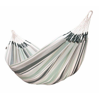 Double cotton natural coloured hammock