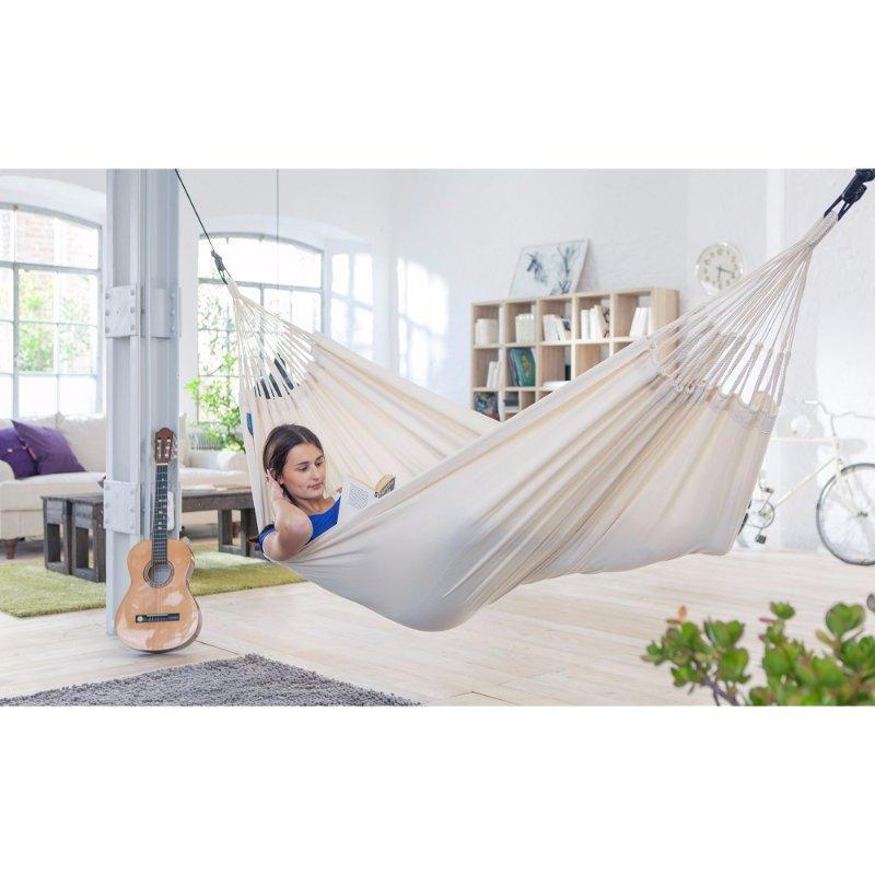Organic cotton natural white hammock