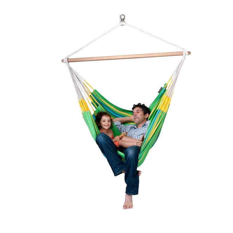 Room for two in XL size chair hammock