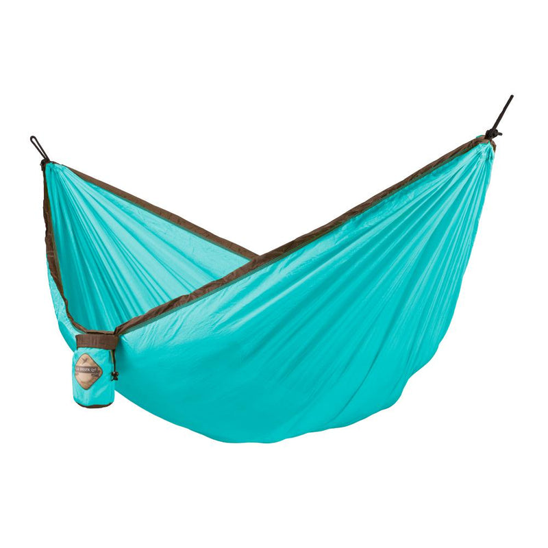 Parachute silk travel hammock