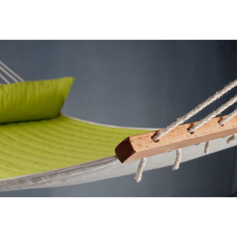 Hammock with padded surface