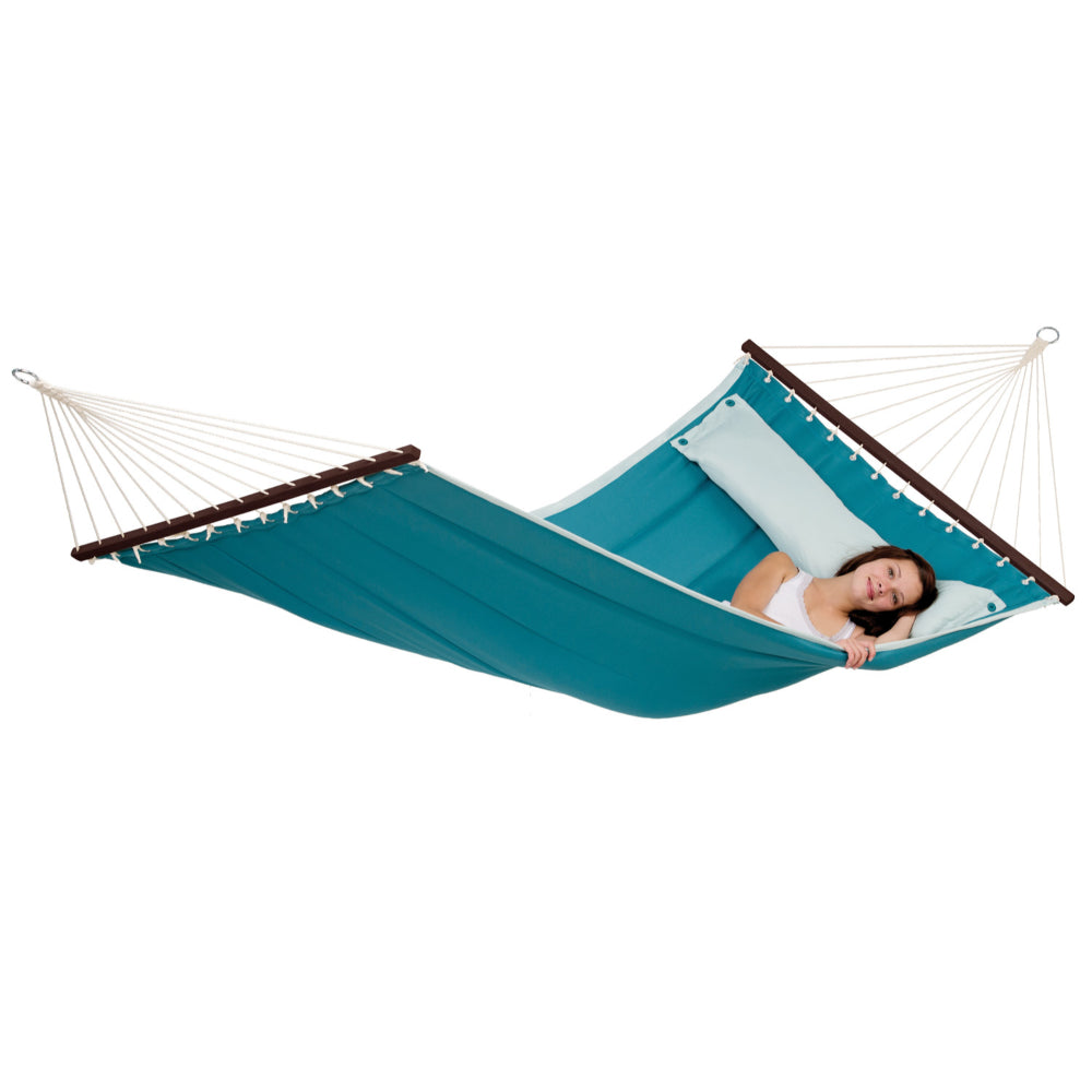 Spreader Bar Hammock - Double Size - Petrol