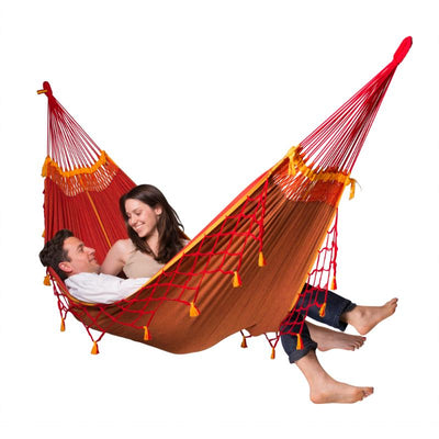 Cotton Brazilian Red Hammock