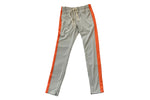 Grey / Orange Track Pants