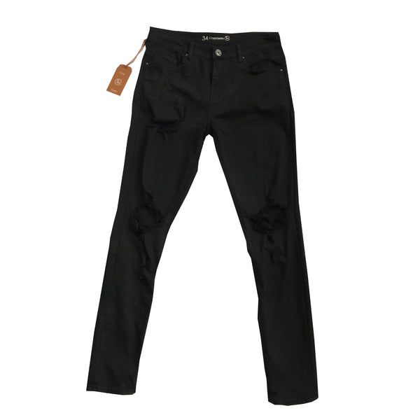 Crysp Denim Black