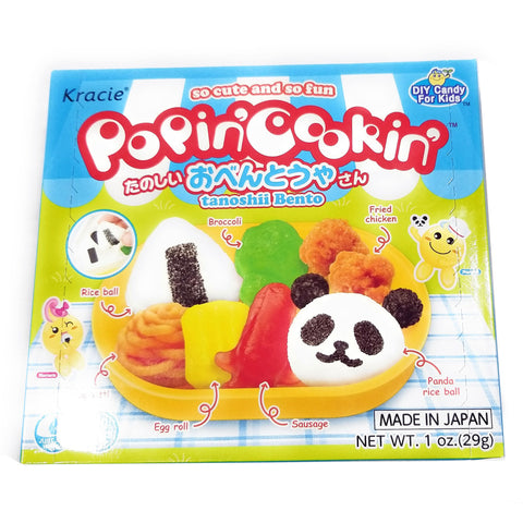 Kracie Popin' Cookin' DIY Candy Kit - Bento
