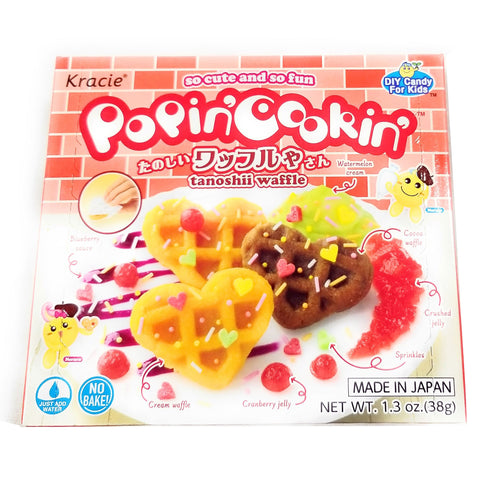Kracie Popin Cookin DIY Candy Waffle Kit, 1.3 Ounce