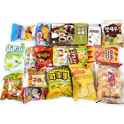 Fusion Asian Snack Box - Deluxe