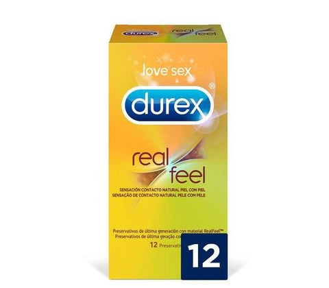 condones sin latex Durex Real Feel