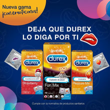 Durex España Condoms Preservativos Durex Pleasure Me Calor