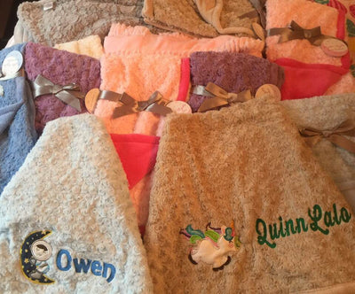Baby Blankets - Personalized