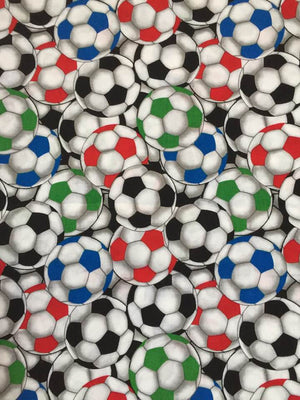 Face Covering - Soccer Balls