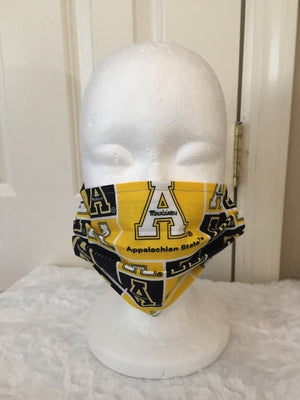 Face Covering - Appalachian State Block Collegiate