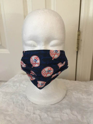 Face Covering - New York Yankees Mini Logo