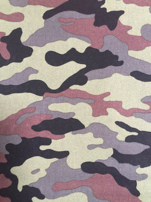 Face Covering - Camouflage Camo Brown, Black, Green & Grey
