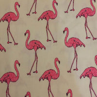 Face Covering - Flamingos
