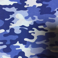 Face Covering - Camouflage Camo Blue Mask