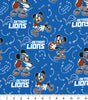 Face Covering - Detroit Lions Mickey Mouse