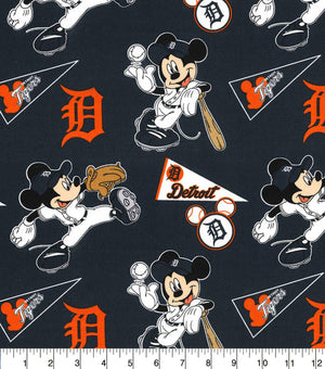 Face Covering - Detroit Tigers Mickey Mouse