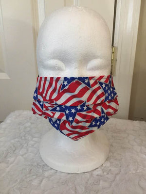 Face Covering - Americana Stars and Stripes