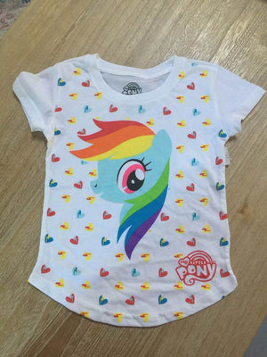 License Character My Little Pony Toddler Graphic T-Shirt - Rainbow Dash