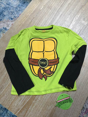 TMNT Teenage Mutant Ninja Turtles Costume Long Sleeve T-Shirt Toddler